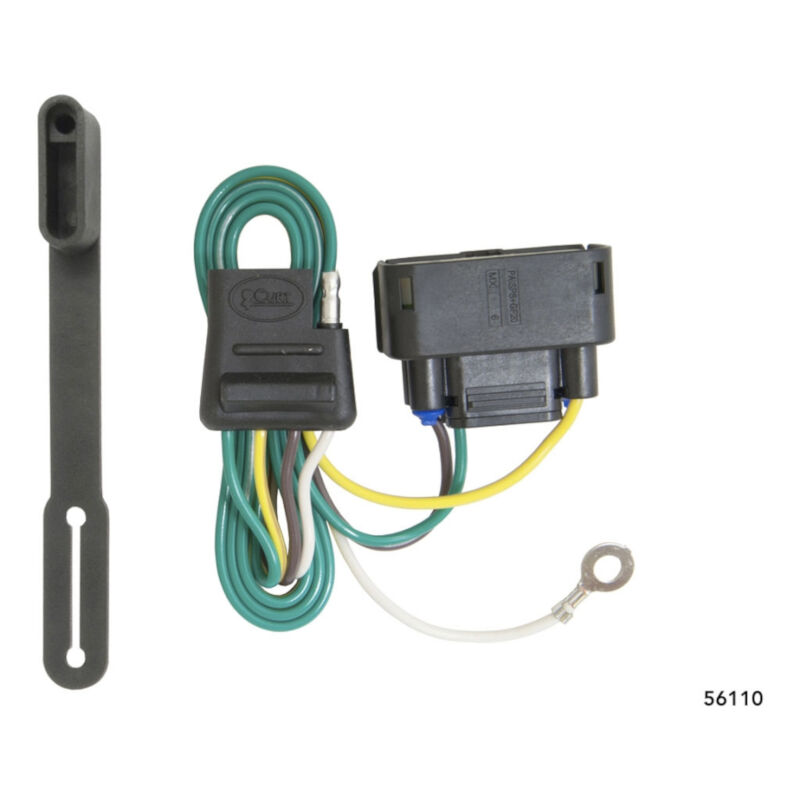 hight resolution of 2010 2016 f150 curt rear trailer t connector wiring harness w o ford ranger trailer