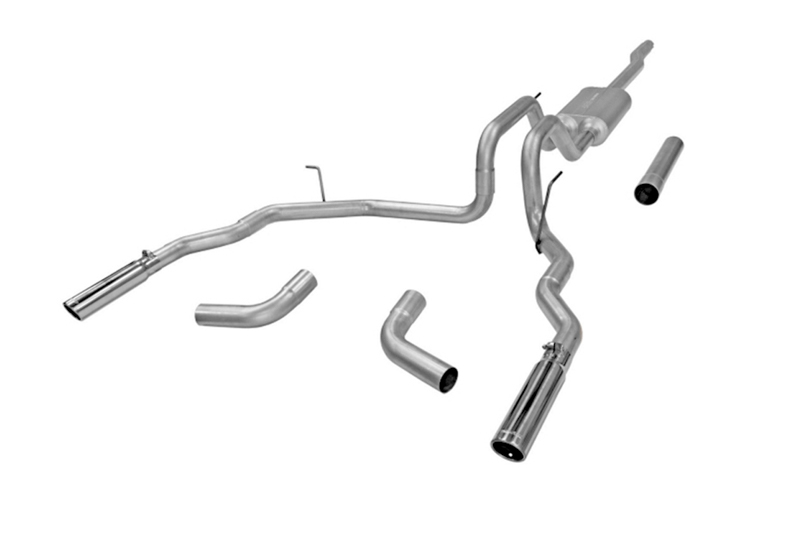 F150 Flowmaster Force Ii Dual Exit Cat Back Exhaust Stainless