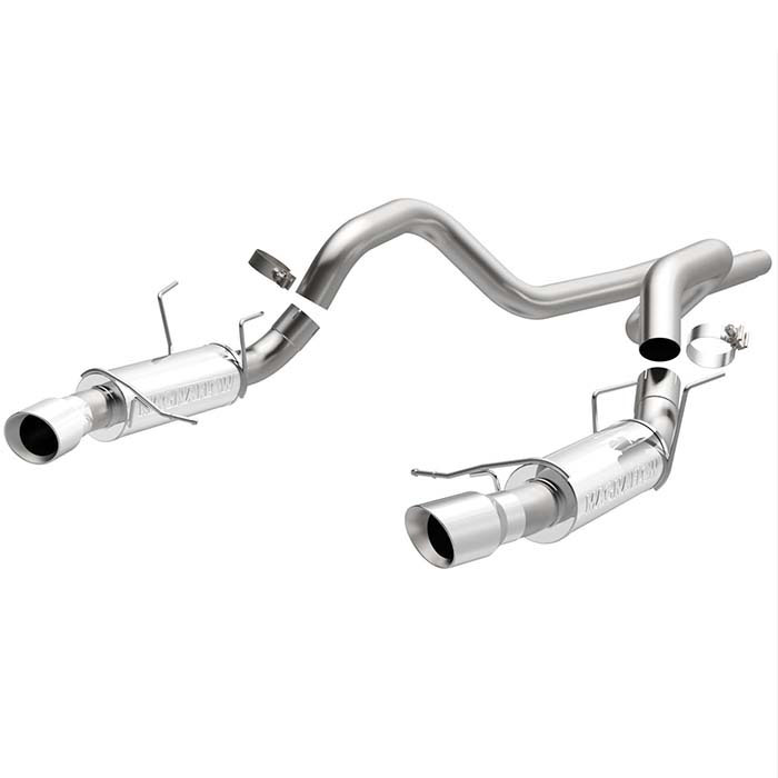 2013 2014 mustang gt 5 0l magnaflow 3 cat back exhaust competition 15150