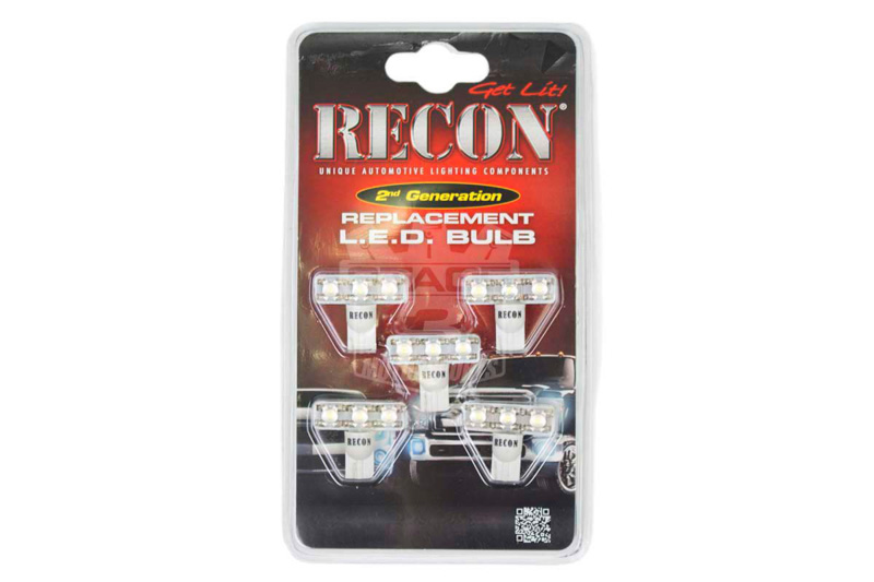 medium resolution of 1999 2016 f250 f350 recon 5 led replacement bulbs white