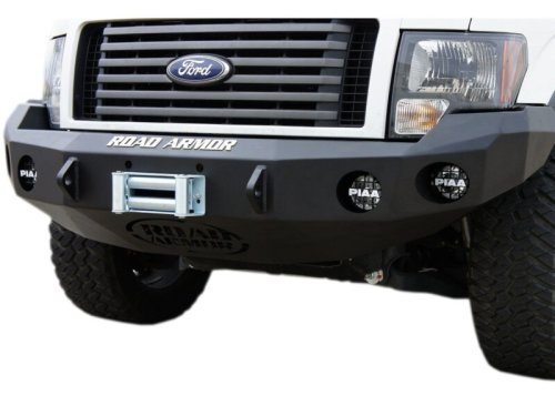small resolution of road armor front bumper with winch