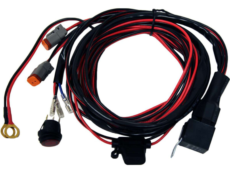 hight resolution of rigid industries d2 series wiring harness for d2 pairs 40196add to my lists rigid industries d2