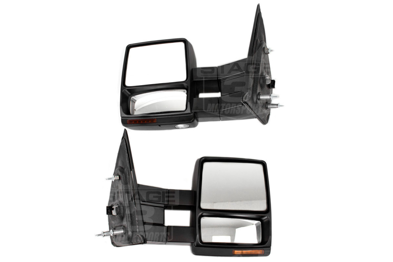 medium resolution of 2007 2014 f150 tow mirrors with puddle lights install