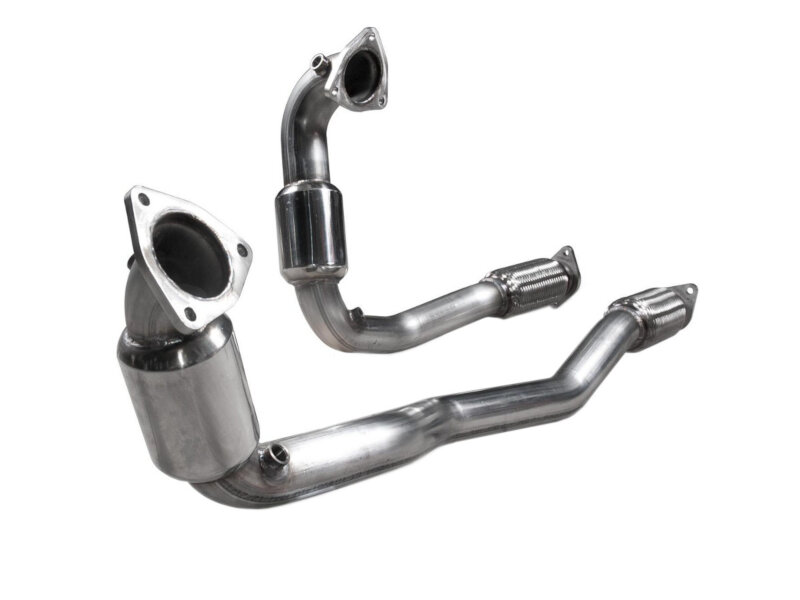 medium resolution of 2010 2018 taurus sho 3 5l ecoboost stainless works catted downpipes 01