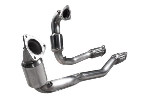 small resolution of 2010 2018 taurus sho 3 5l ecoboost stainless works catted downpipes 01