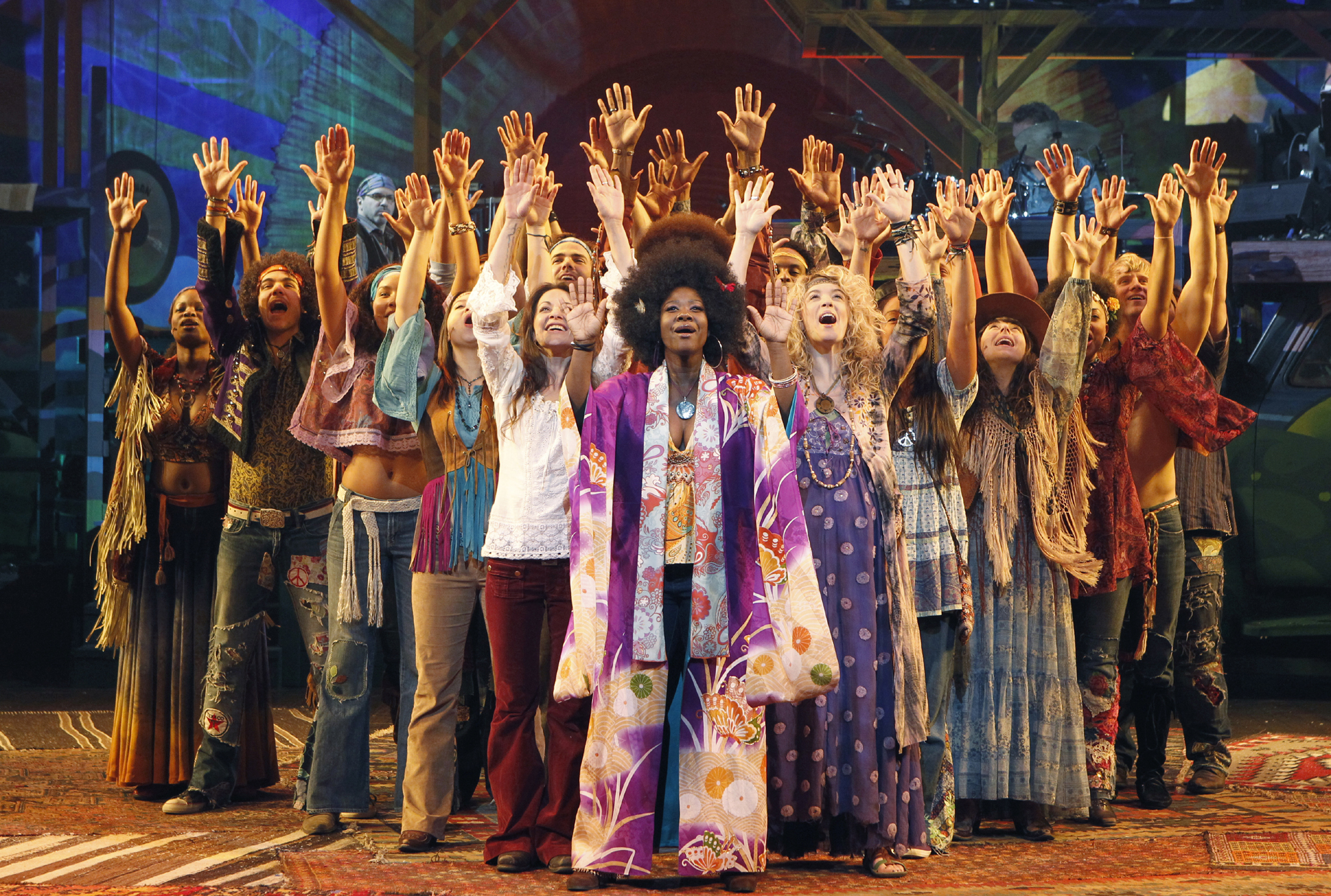 National Tour Theater Review Hair Hollywood Pantages