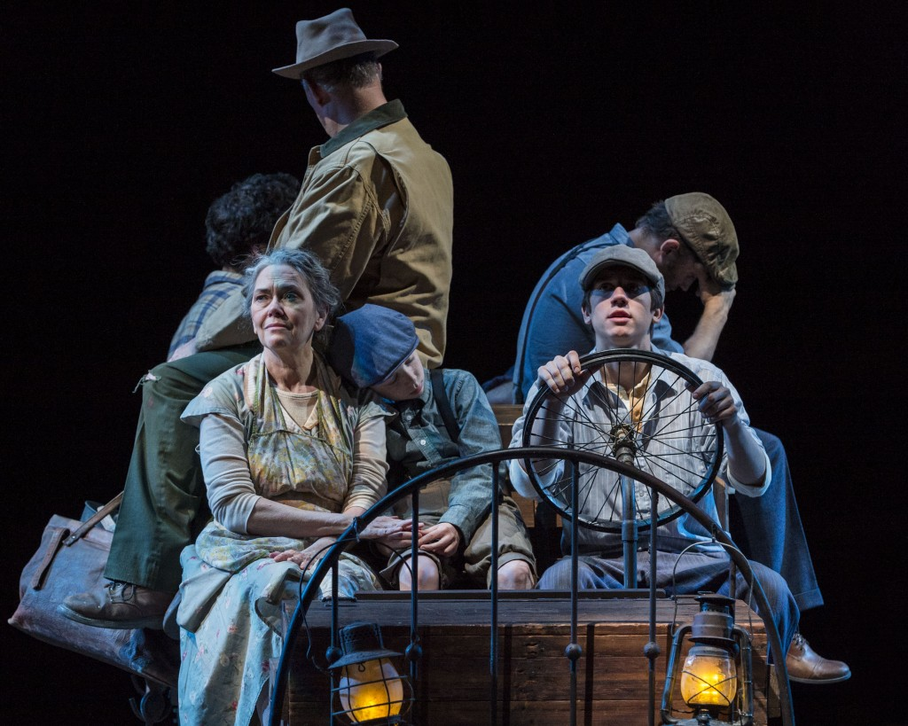 Los Angeles Theater Review THE GRAPES OF WRATH A Noise