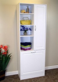 Bathroom Storage Cabinets with Doors - Home Furniture Design