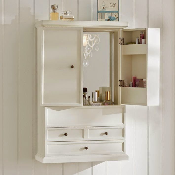 Bathroom Wall Cabinet with Drawers  Home Furniture Design