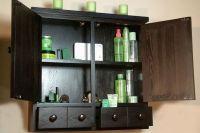 Black Bathroom Wall Cabinet - Home Furniture Design