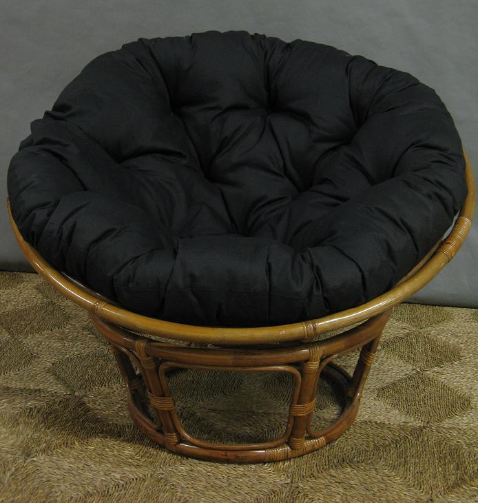 Black Papasan Chair