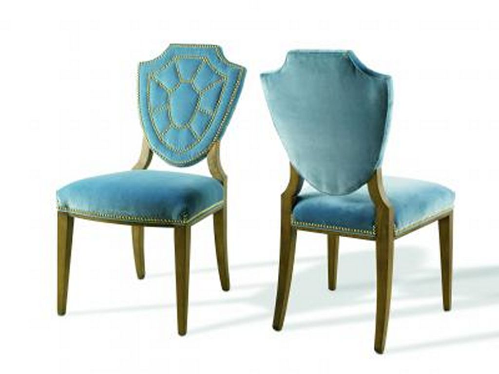 Blue Leather Dining Chairs  Home Furniture Design