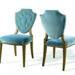 Dining Chair Design Ideas Double X Back Blue Leather Chairs Home Furniture