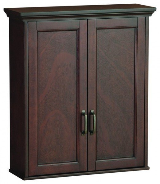 Cherry Bathroom Wall Cabinet
