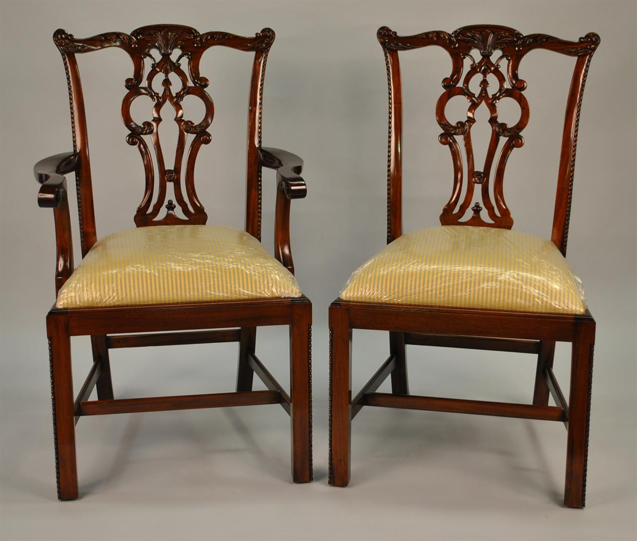 chippendale dining chair wingback room chairs home furniture design
