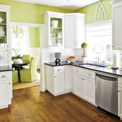 Kitchen Cabinet White Aid Pasta Press Diy Painting Cabinets Home Furniture Design
