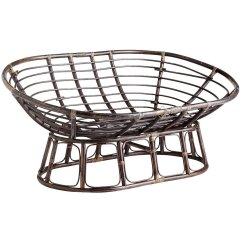 Folding Saucer Moon Chair My Gym Double Papasan Frame - Home Furniture Design