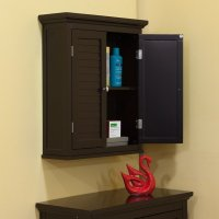 Espresso Bathroom Wall Cabinet