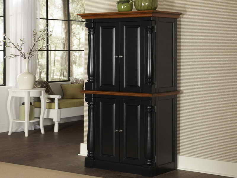 Freestanding Pantry Cabinet For Kitchen Home Furniture
