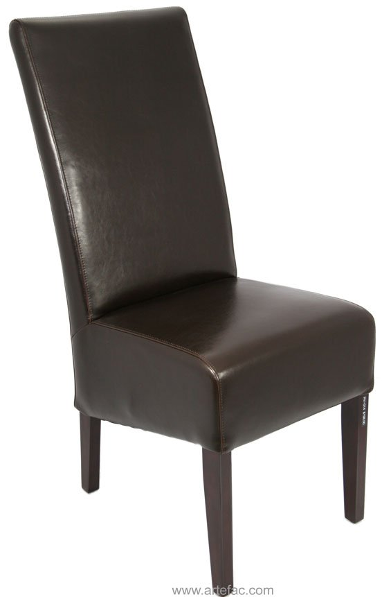 High Back Leather Dining Chairs  Home Furniture Design