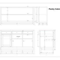 Kitchen Cabinet Plans Countertop Prices Pantry Home Furniture Design