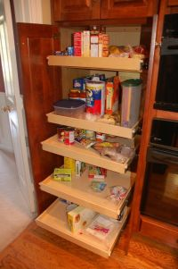 Pantry Cabinet: Kitchen Cabinet Pantry Pull Out with How ...