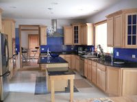 Kitchen Wall Colors with OAK Cabinets - Home Furniture Design