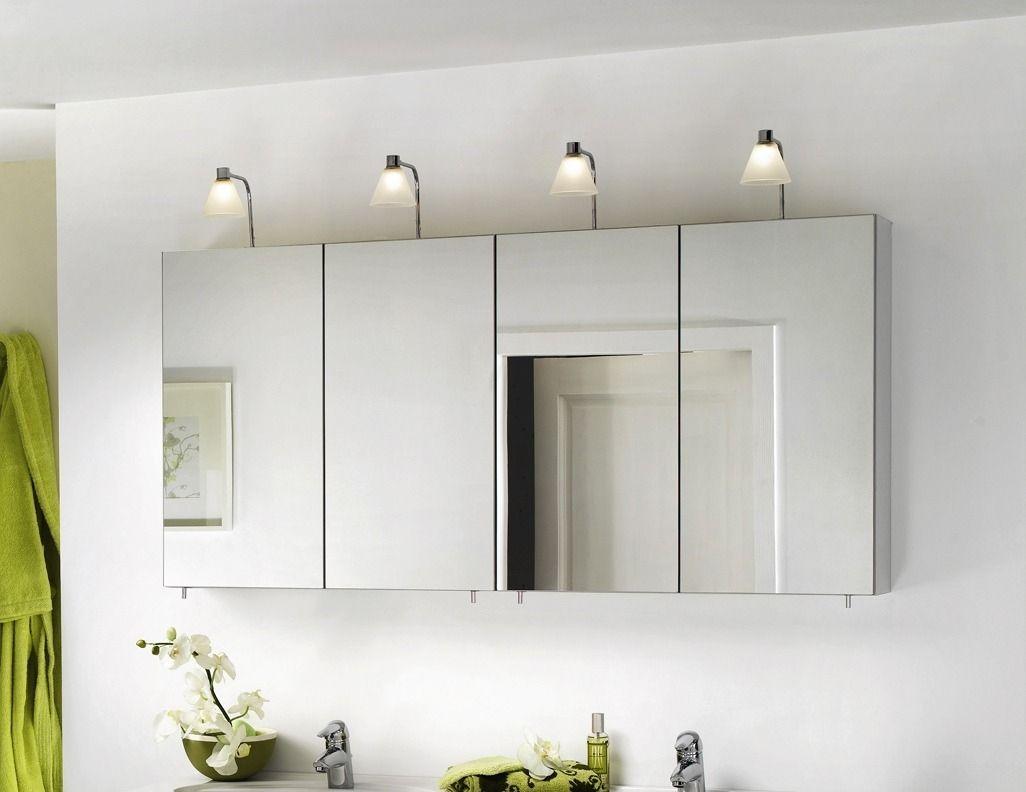 Mirrored Bathroom Wall Cabinets  Home Furniture Design