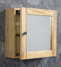 OAK Bathroom Wall Cabinets - Home Furniture Design