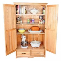 Pantry Cabinet: Storage Pantry Cabinet with Kitchen ...