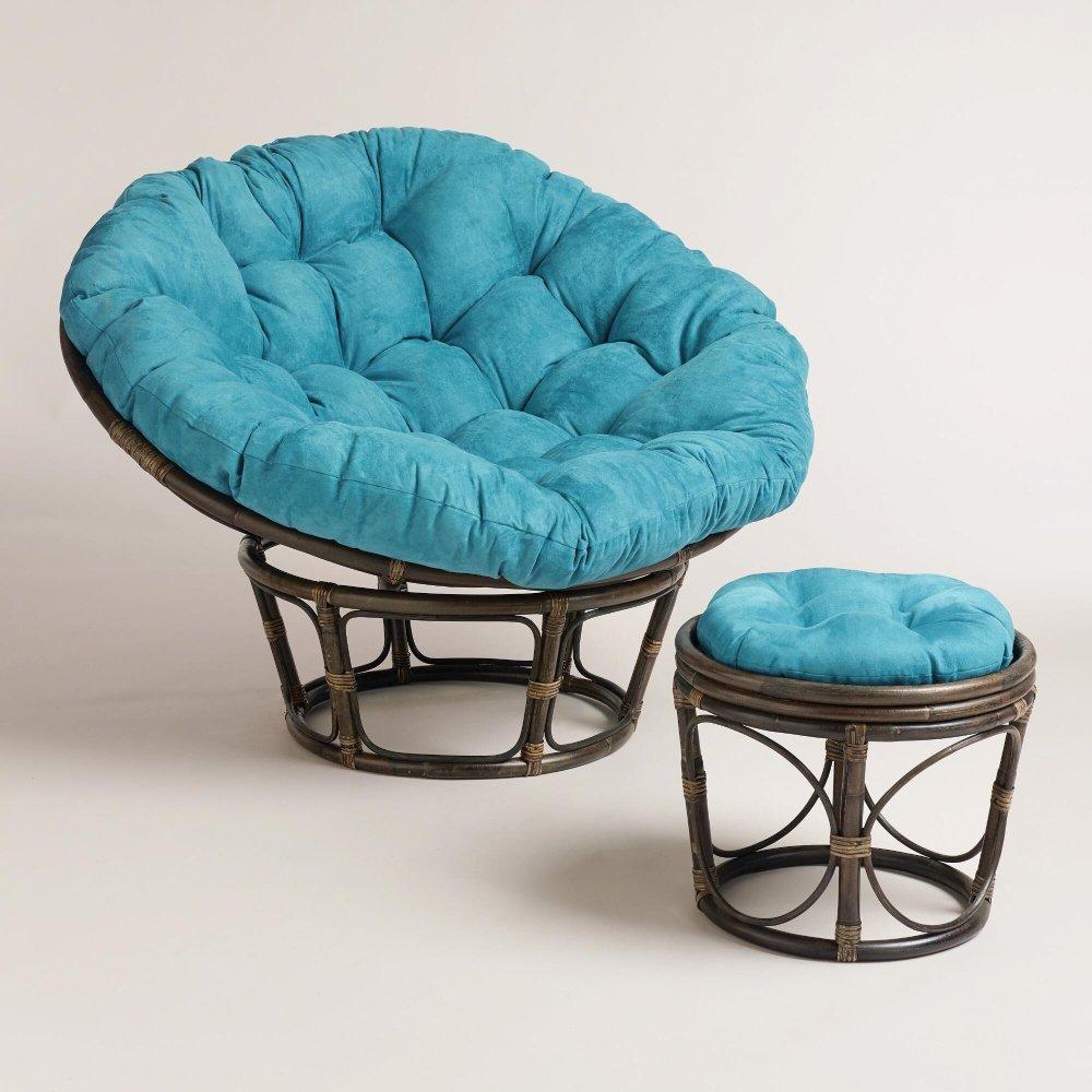 small papasan chair cushion sofia the first table and set ikea - home furniture design