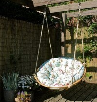 Papasan Swing Chair - Home Furniture Design