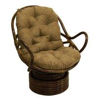 Papasan Swivel Rocker Chair