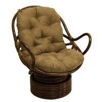 Papasan Swivel Rocker Chair - Home Furniture Design