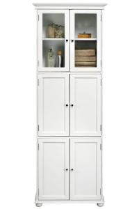 Tall White Bathroom Storage Cabinet - Home Furniture Design