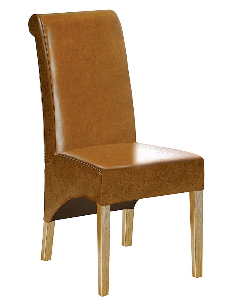 Tan Leather Dining Chairs Home Furniture Design