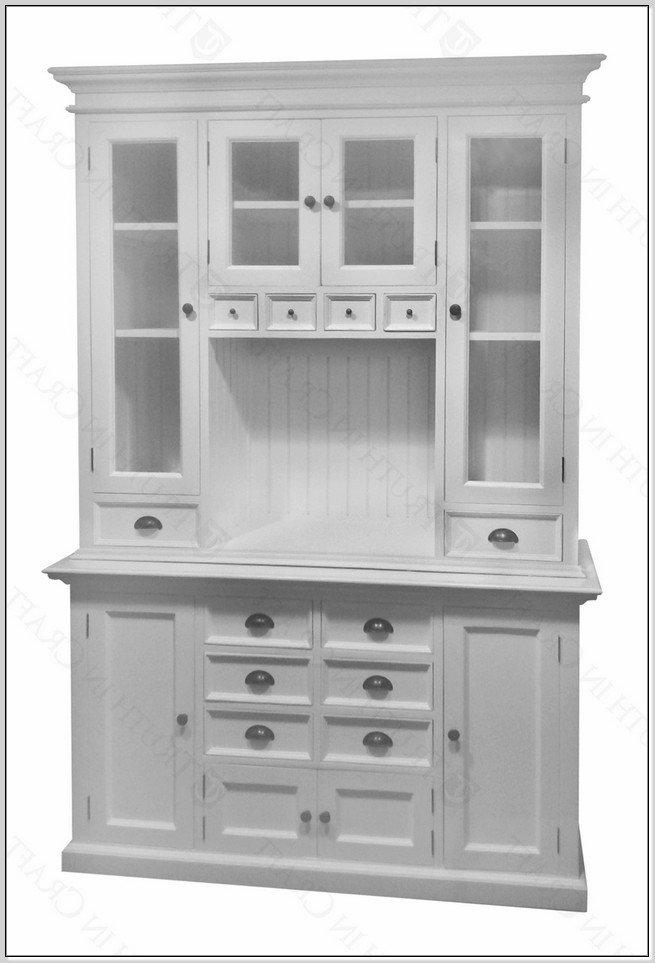 White Kitchen Hutch Cabinet  Home Furniture Design