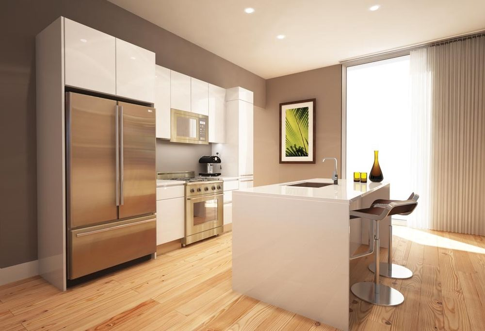White Lacquer Kitchen Cabinets  Home Furniture Design