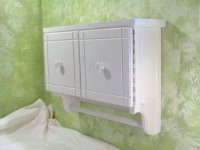 White Wall Bathroom Cabinet - Home Furniture Design