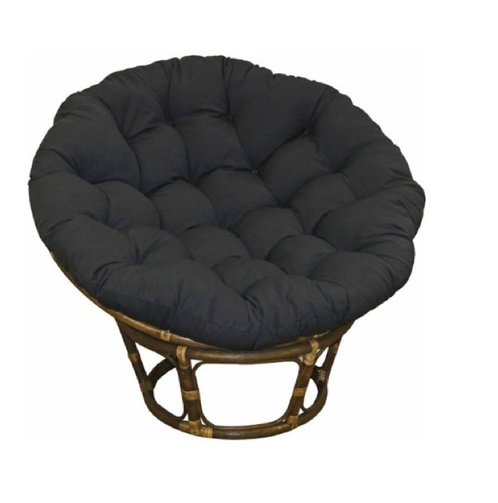 folding saucer moon chair sparco office replacement papasan cushion - home furniture design