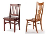 All Wood Dining Chairs