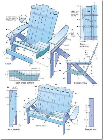 Best Adirondack Chair Plans  Home Furniture Design