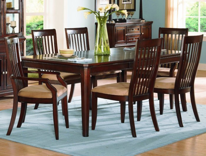 Cherry Wood Dining Chairs  Home Furniture Design