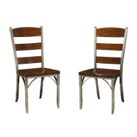 Metal and Wood Dining Chairs - Home Furniture Design