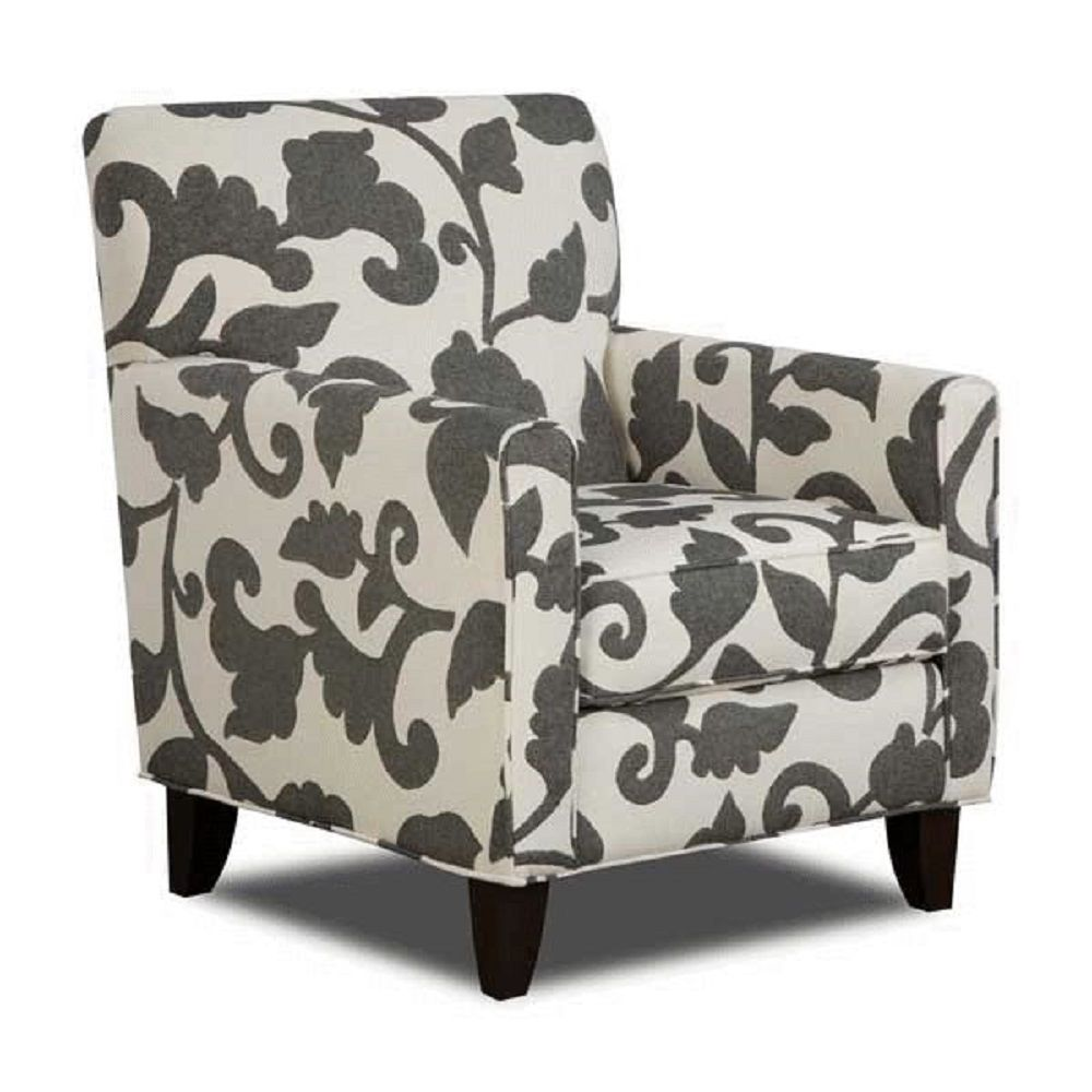 Patterned Accent Chairs  Home Furniture Design