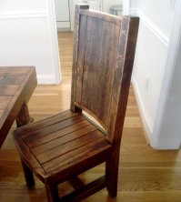 Reclaimed Wood Dining Chairs - Home Furniture Design