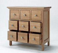 Solid Wood Storage Cabinets with Doors - Home Furniture Design