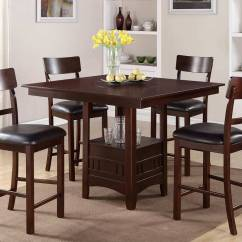 Tall Kitchen Tables And Chairs Pool Floating Lounge Chair Dining Room Table Sets Home Furniture Design