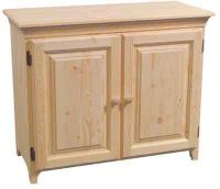 Unfinished Wood Storage Cabinets - Home Furniture Design