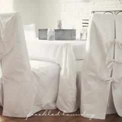 White Slip Covers For Dining Room Chairs Henry Miller Chair Slipcovers Home Furniture Design